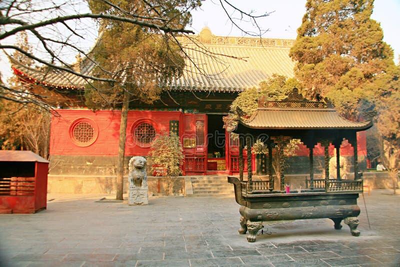 Baimatempel in Luoyang stock foto