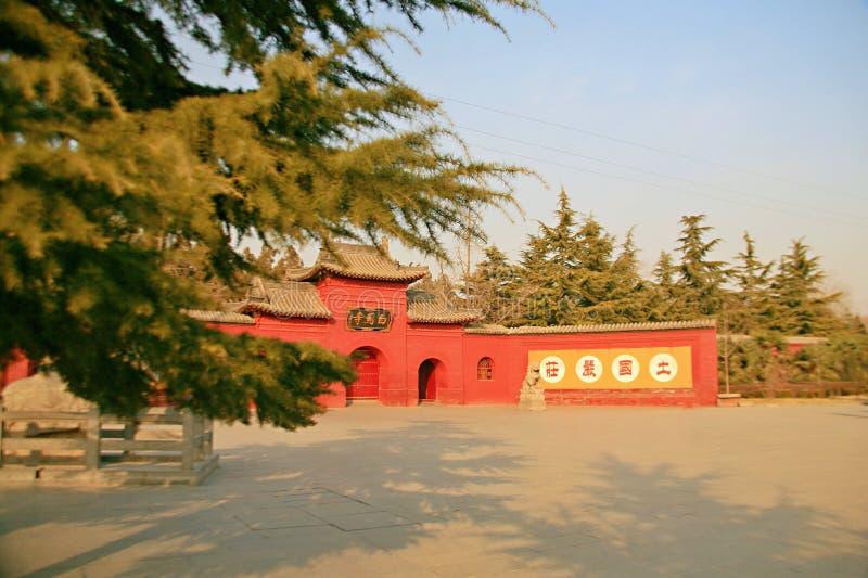Baimatempel in Luoyang stock afbeeldingen