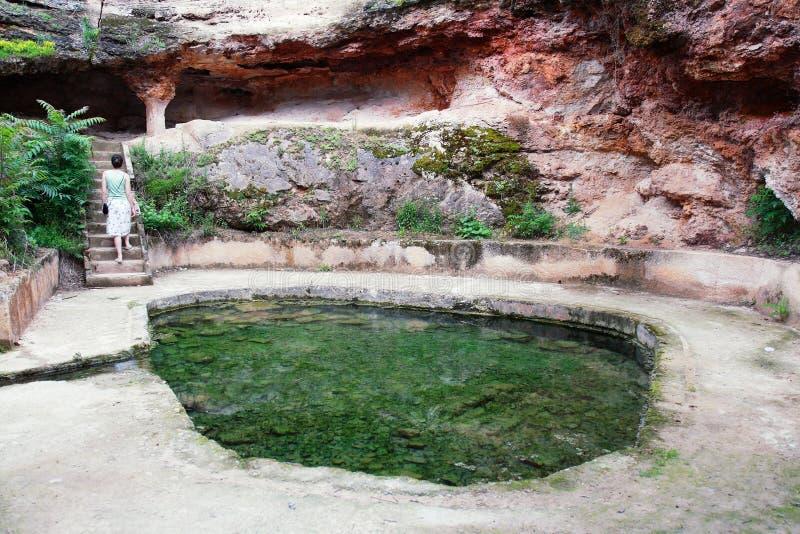 Bain romain image libre de droits