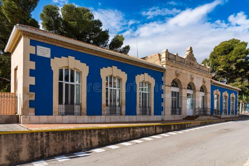 Bains romains naturels dans Banos De région de Fortuna, Murcie, Espagne photographie stock