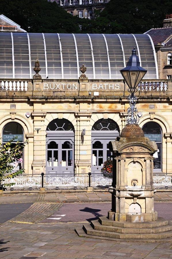Bains thermiques, Buxton photos stock