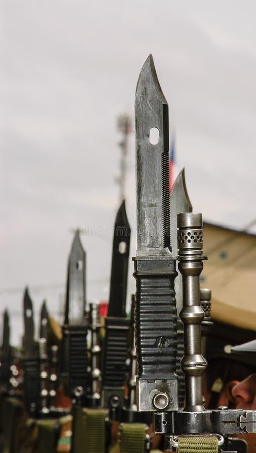 Baioneta fotografia de stock