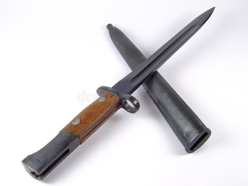 Baionetta immagine stock