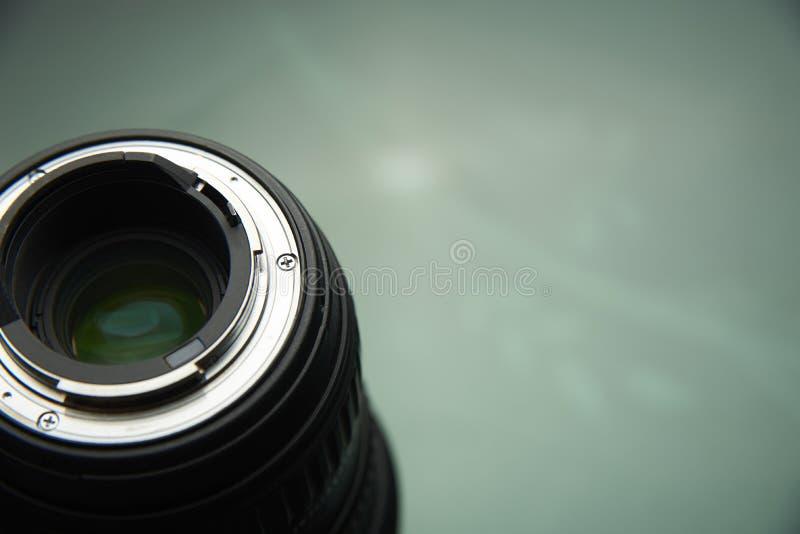 Baionetta della lente di primo piano fotografia stock libera da diritti