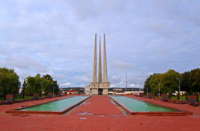 Baionette commemorative del complesso tre immagini stock