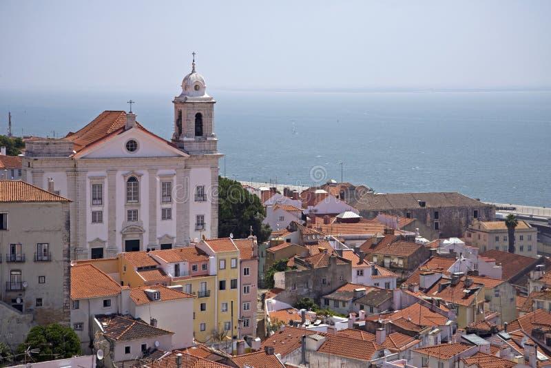 Bairro-Alt, Lissabon, Portugal lizenzfreie stockfotos