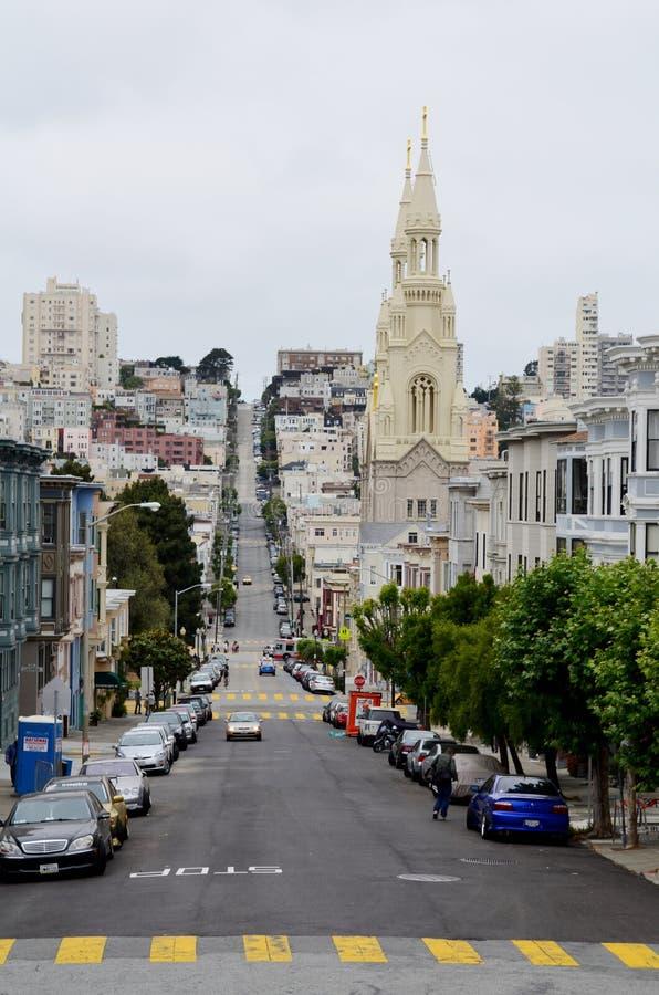 Bairro chinês, San Francisco, Califórnia, EUA fotos de stock