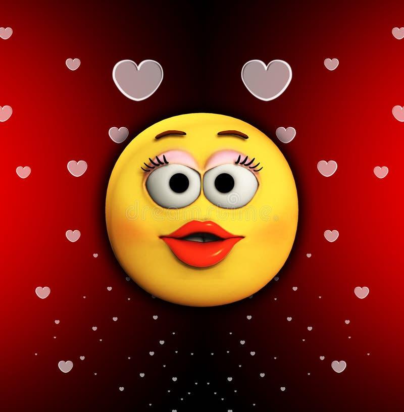 Baiser de dessin anim de l 39 amour illustration stock illustration du valentines cartoon 15268047 - Dessin de l amour ...