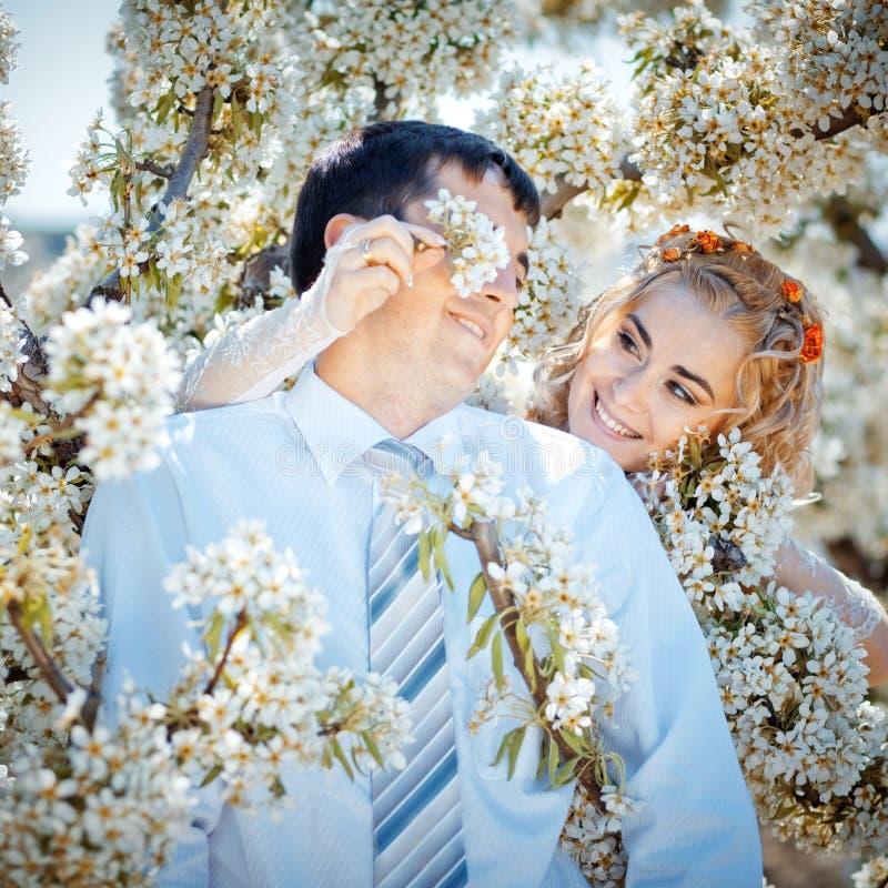 Baisers des couples image libre de droits