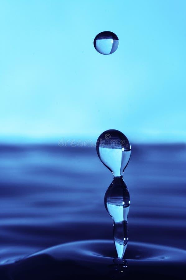 Baisse abstraite de l'eau photos libres de droits