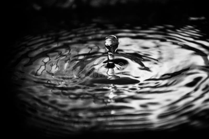 Baisse de l'eau photo libre de droits