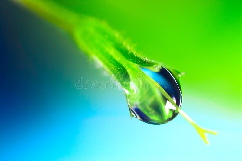 Baisse de l'eau photographie stock