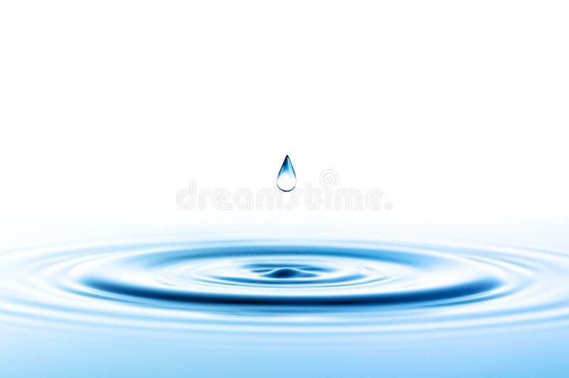 Baisse de l'eau photo stock
