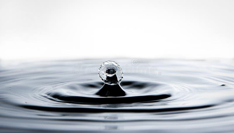 Baisse en baisse de l'eau photo libre de droits