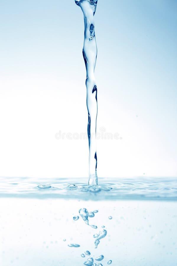 Baisses abstraites de l'eau images libres de droits