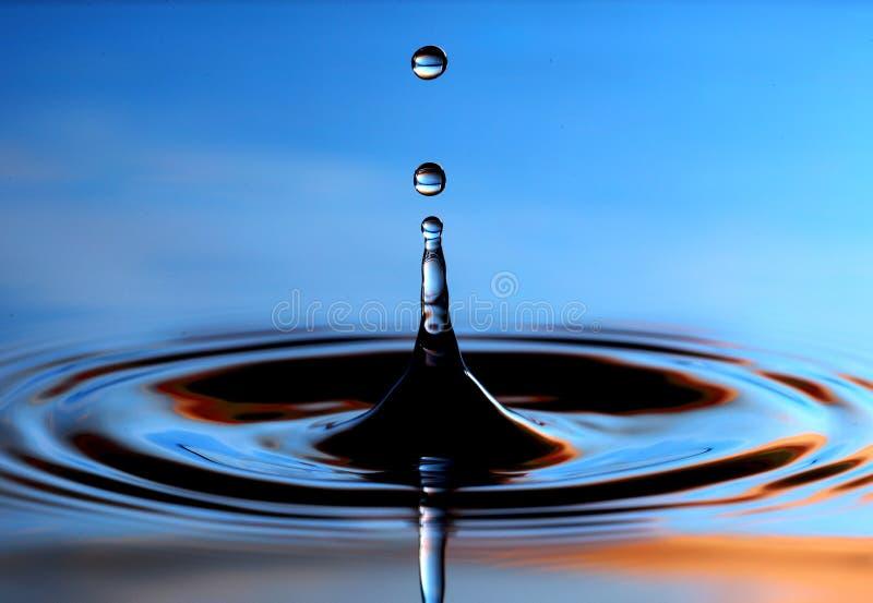 Baisses de l'eau images libres de droits