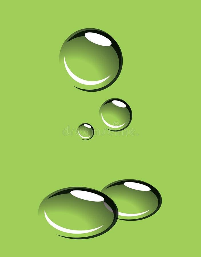Baisses de l'eau photo libre de droits