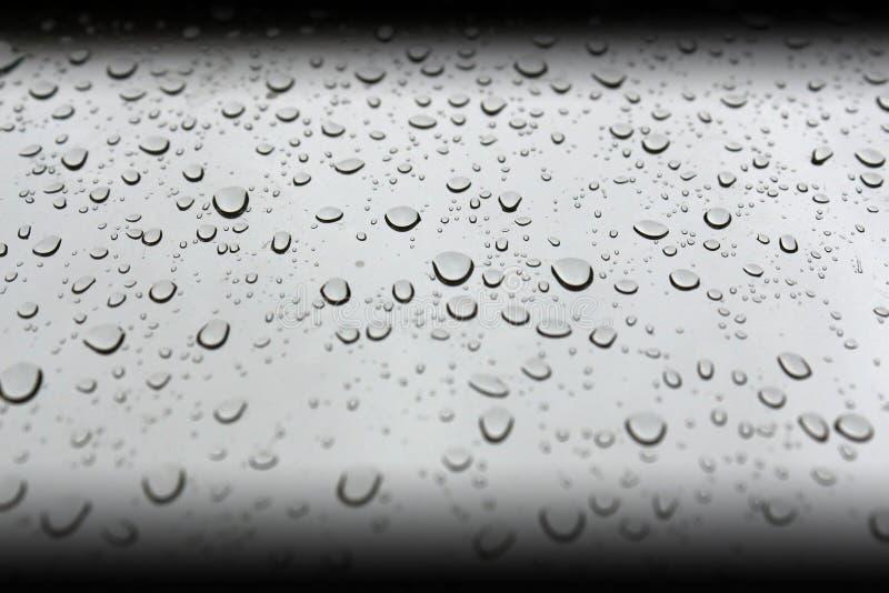 Baisses parfaites de l'eau image libre de droits