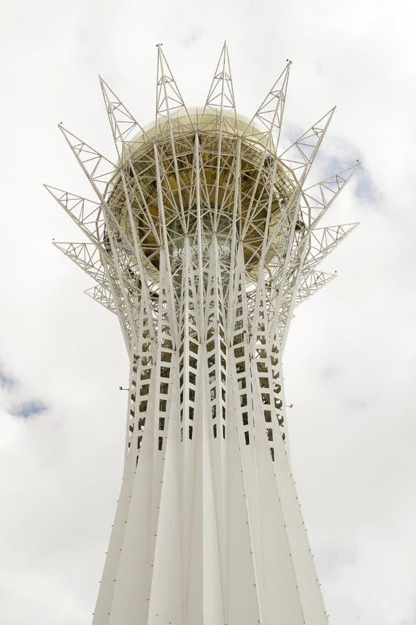 Baiterek - a monument in the capital of Kazakhstan stock image