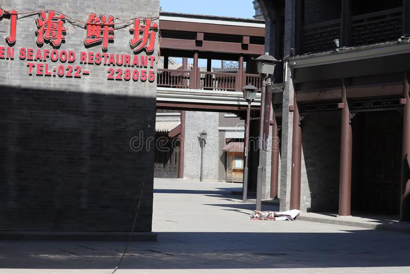 BaiTong-Fort nahe TinJin-Nordchina stockfotos