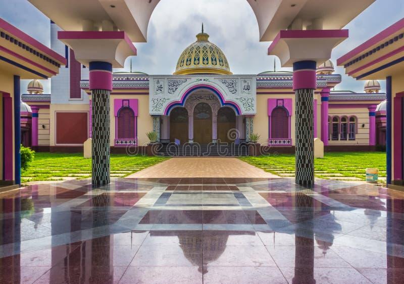 Baitul阿门洲清真寺Barishal,孟加拉国 库存图片