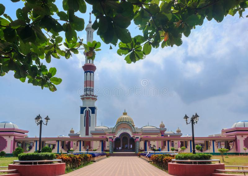 Baitul Aman Mosque Barishal, Bangladesh royaltyfri fotografi