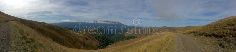 Baiului mountains panorama, Romania. The Baiu Mountains are mountains in central Romania, a few kilometers south of BraÈ™ov royalty free stock photography