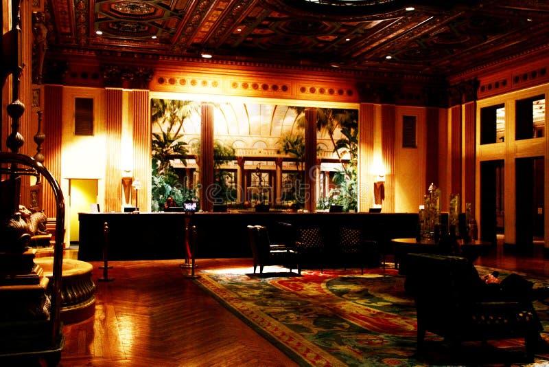 Baixa de Los Angeles, hotel de Biltmore do milênio fotografia de stock