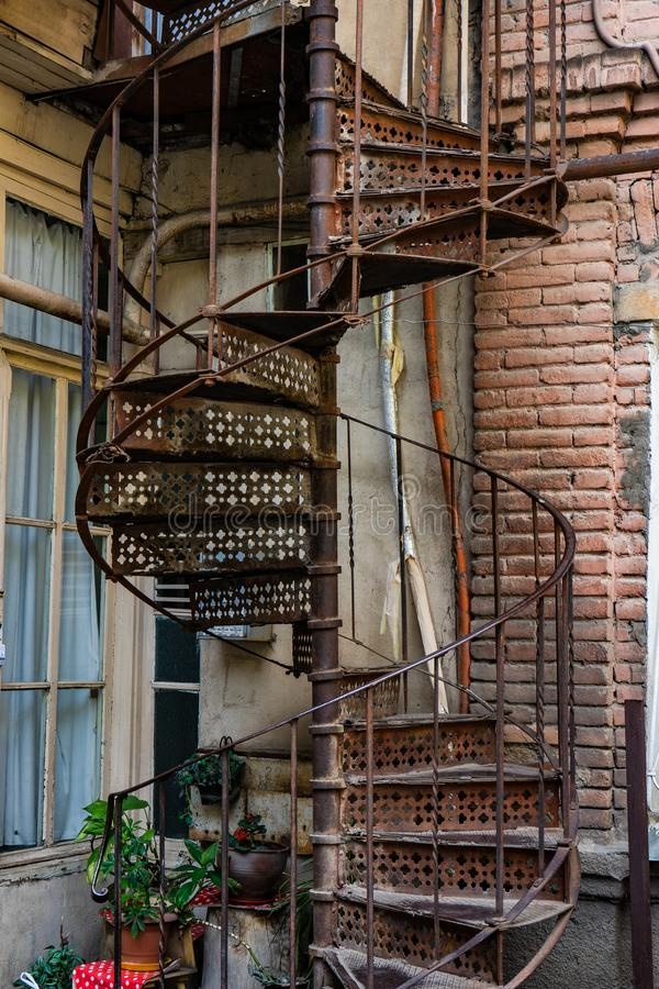 Baixa de Tbilisi, Geórgia fotos de stock royalty free