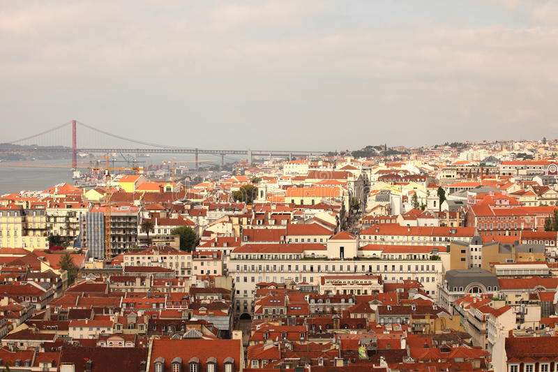 Baixa Lisbon Royalty Free Stock Photography