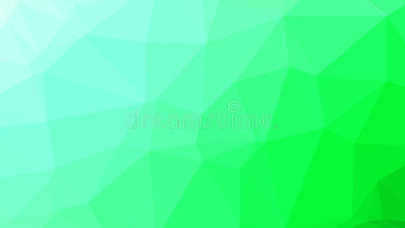 Baixo fundo poli triangular emaranhado geométrico abstrato alaranjado do gráfico da ilustração do estilo ilustração do vetor