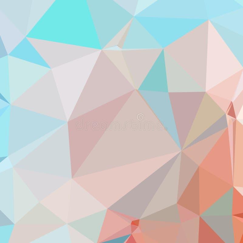 Baixo fundo poligonal abstrato ilustração stock