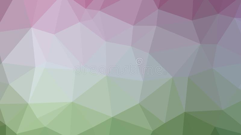 Baixo poli colorido, triangular, fundo do teste padrão do sumário do mosaico, gráfico poligonal da ilustração do vetor, negócio c ilustração royalty free