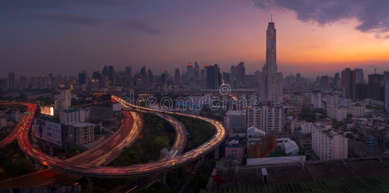Baiyoke torn, Bangkok, Thailand royaltyfri foto