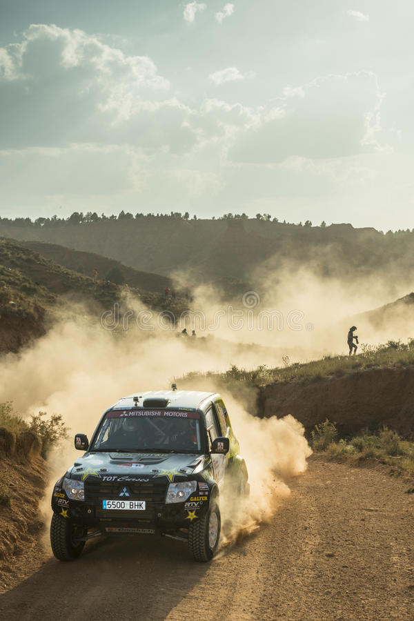 Download Baja Aragon 2013 editorial stock image. Image of endurance - 34556304