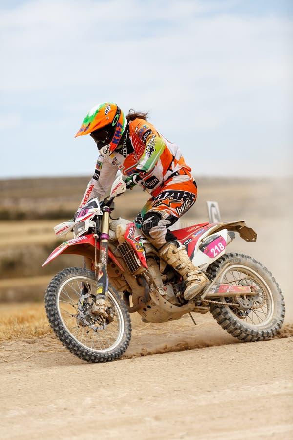 Baja Aragon 2014. XXXI Competition Edition Baja Aragon (Spain), FIA World Cup for Cross Country Rallies stock photography