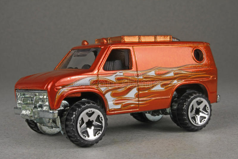 Baja Breaker Ford Van stock photography