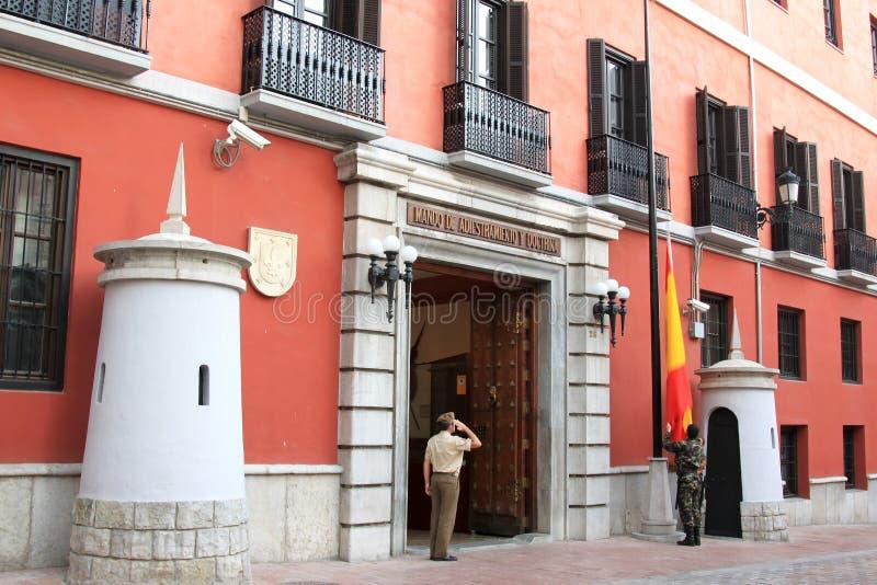 Baja del indicador español, Granada, Andaluc3ia imagen de archivo libre de regalías