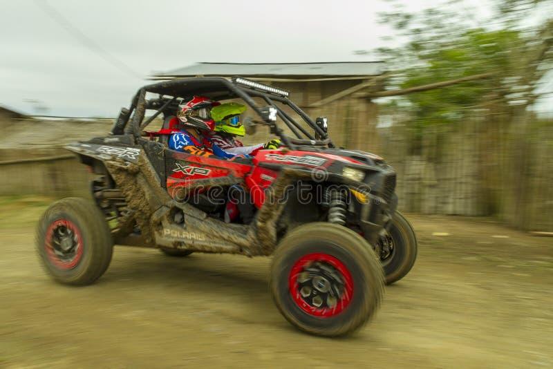 Baja Pedernales samochodowa rasa fotografia stock