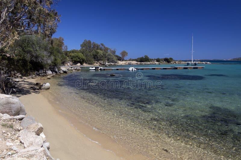 Baja Sardinia - Sardinia - Italy royalty free stock photo