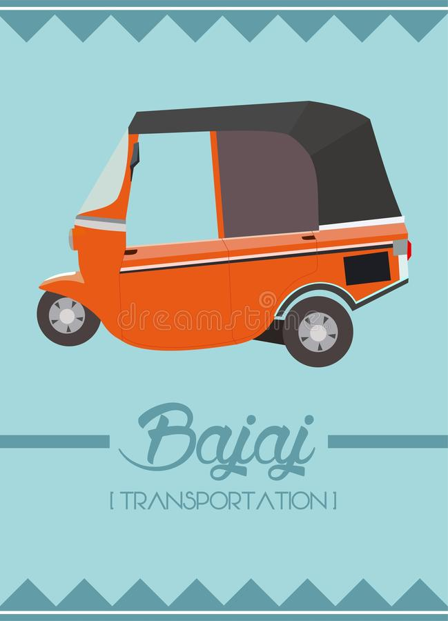 Bajaj libre illustration