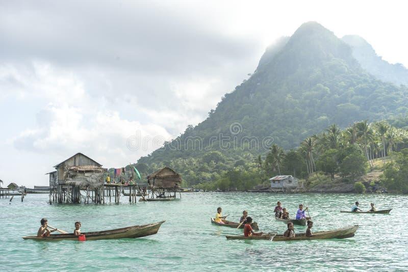 Bajau Laut foto de stock