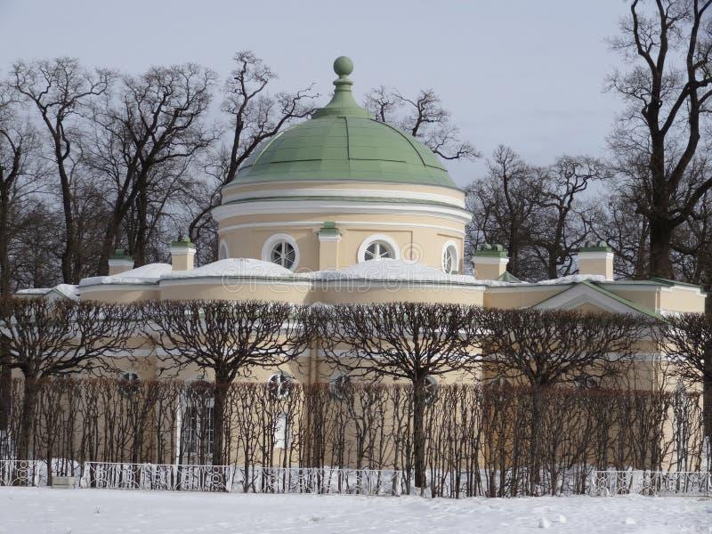 Baje el baño en Catherine Park St Petersburg Rusia imagenes de archivo