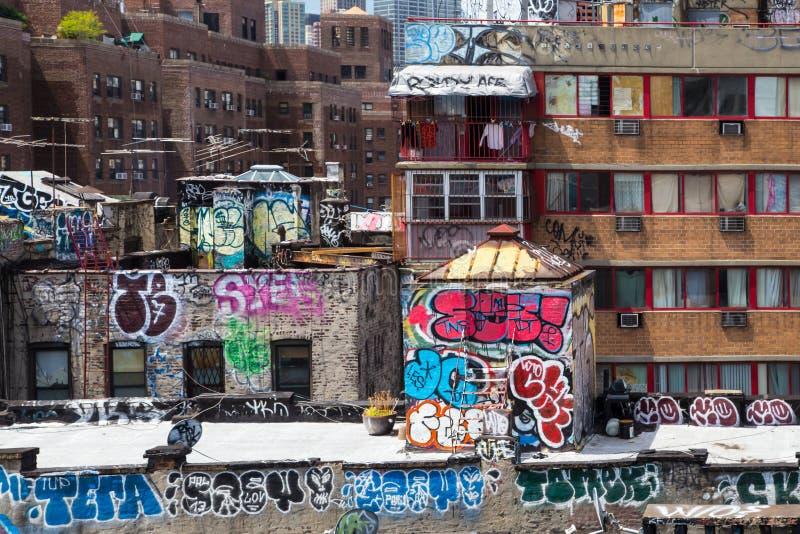 Baje la zona este NYC fotografía de archivo