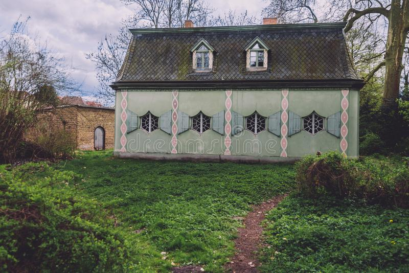 Bajka dom w Potsdam obrazy royalty free