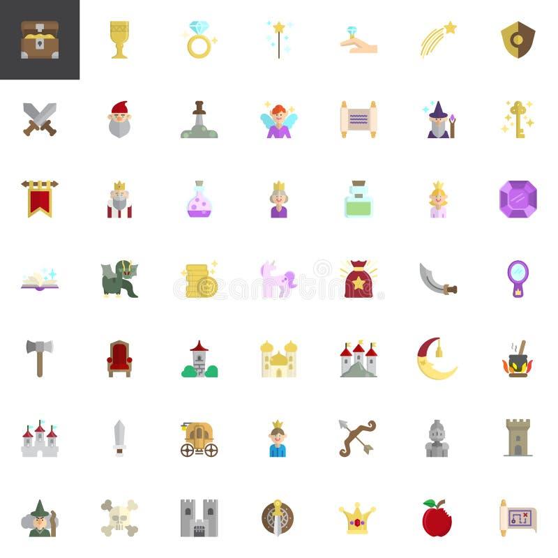 Bajka elementy inkasowi royalty ilustracja