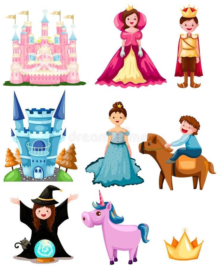 bajka set royalty ilustracja