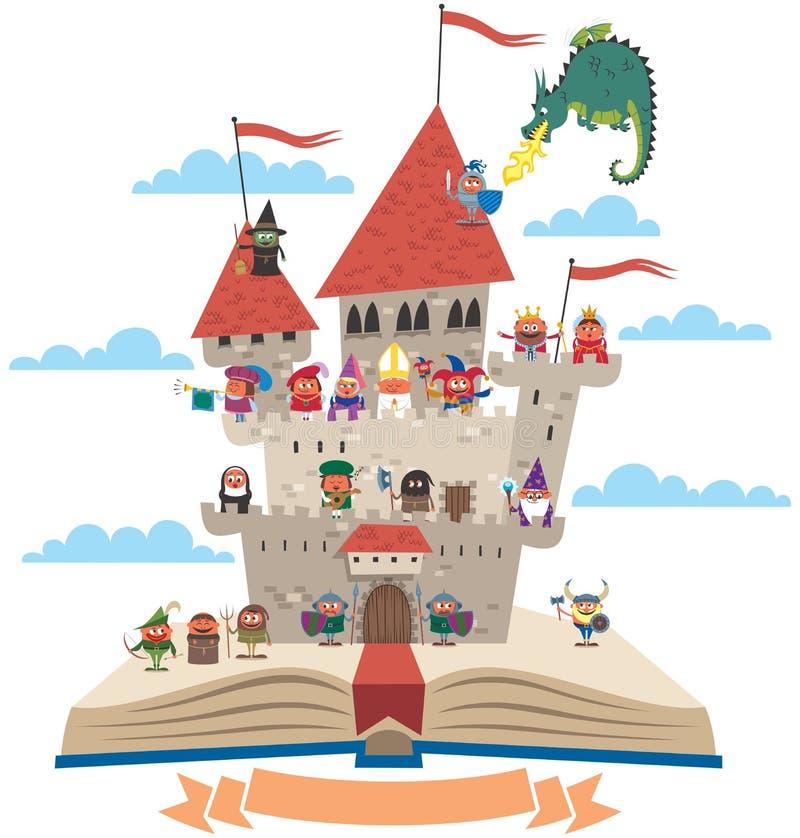 Bajki książka ilustracja wektor