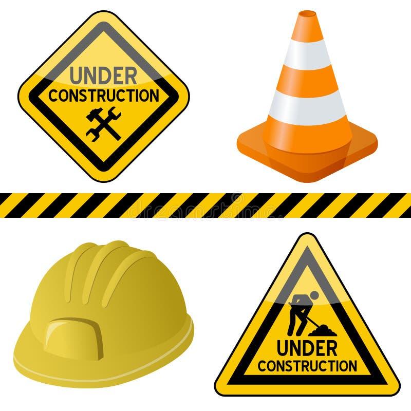 Bajo conjunto de símbolos de la construcción