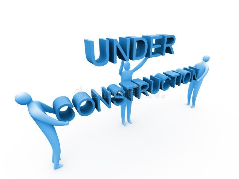 Download Bajo construcción stock de ilustración. Ilustración de internet - 183357
